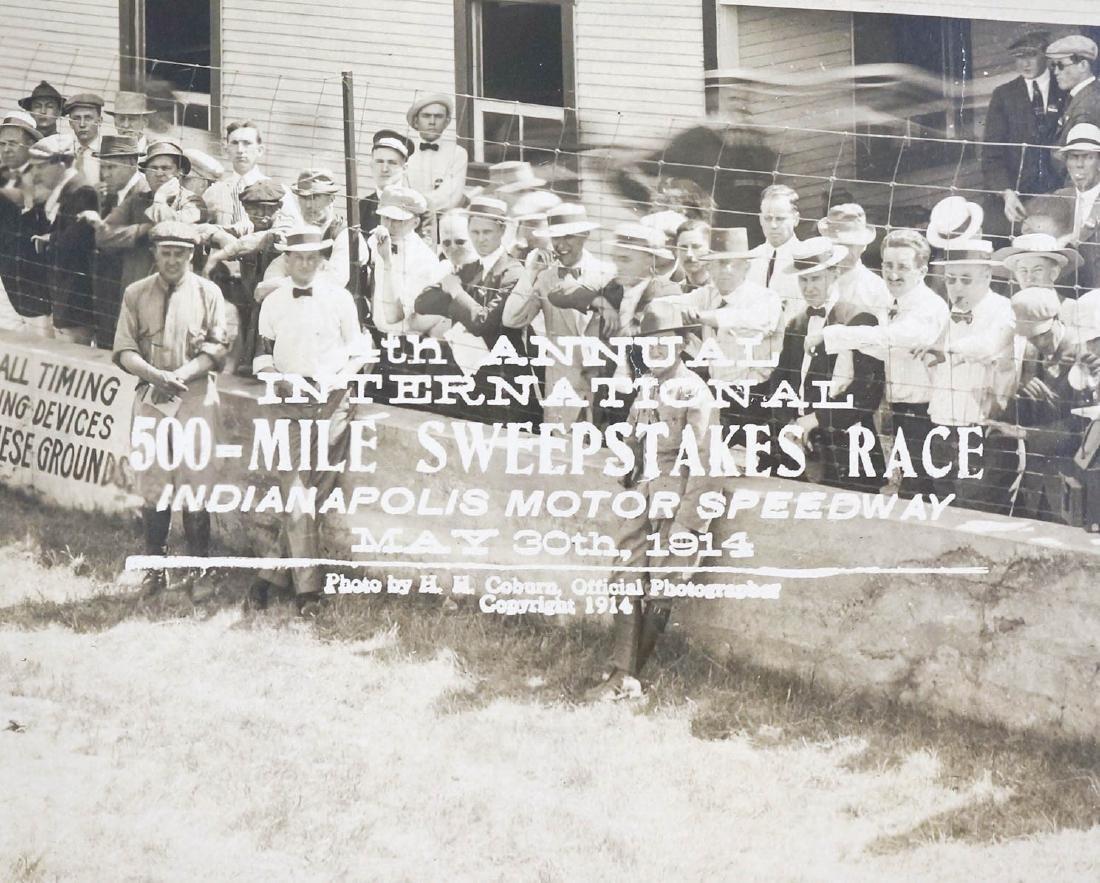 1914 Original Indy 500 Panoramic Photograph - 3