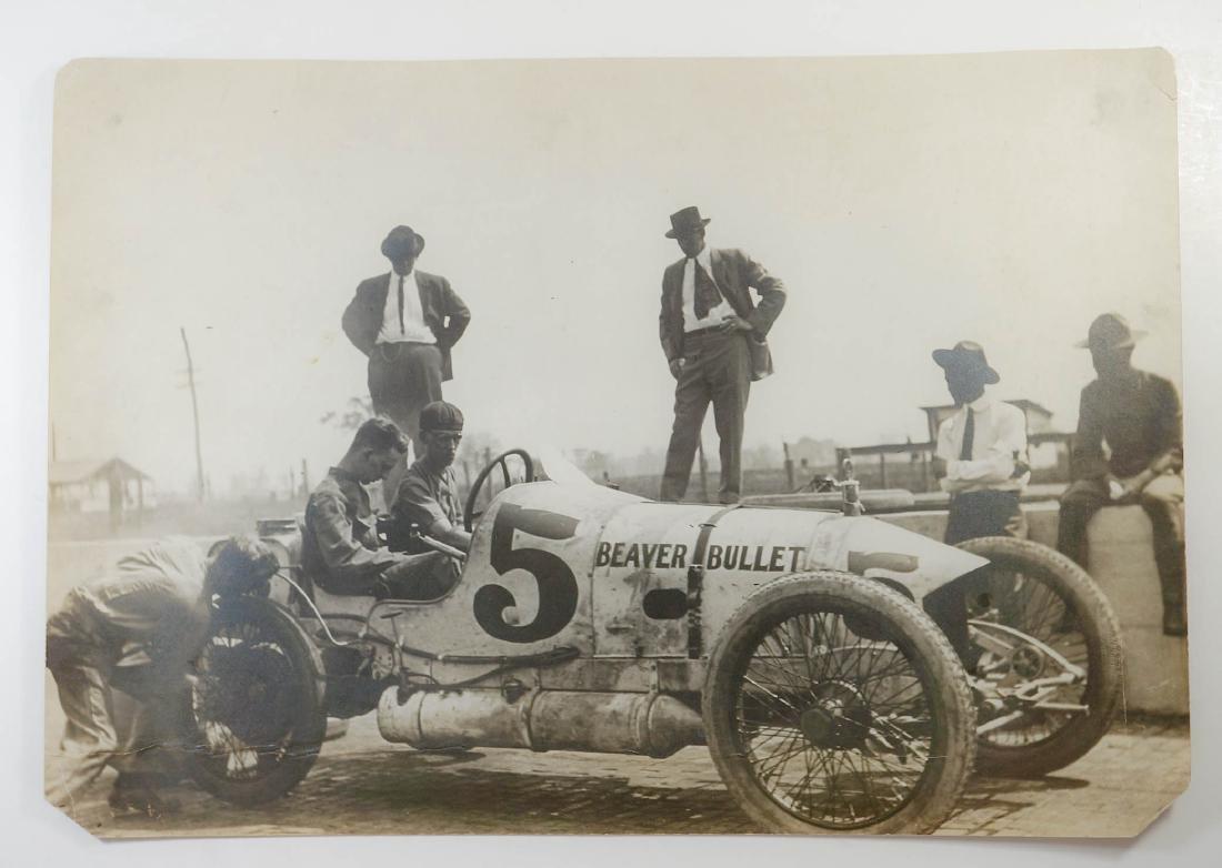 1914 Indy 500 Beaver Bullet Original Photograph