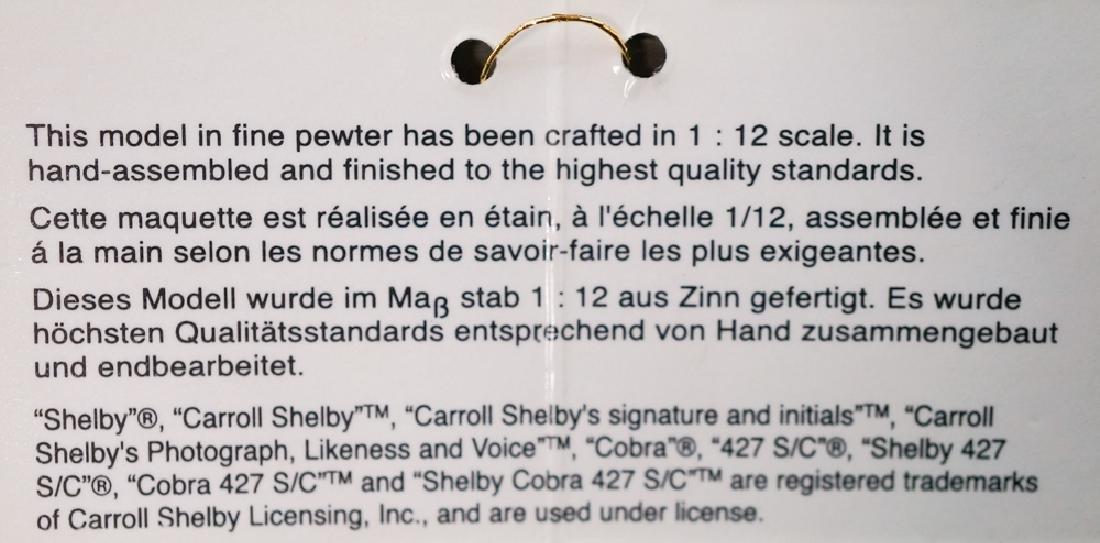Shelby Daytona Coupe Pewter Limited Edition - 7