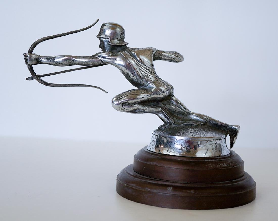 Original Pierce-Arrow Archer Hood Ornament - 2