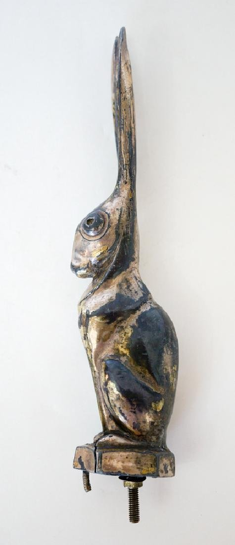 Vintage Rabbit Hood Ornament