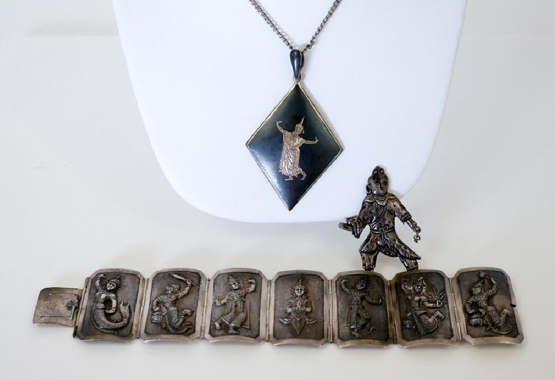 Group of Siam Sterling Jewelry - 2