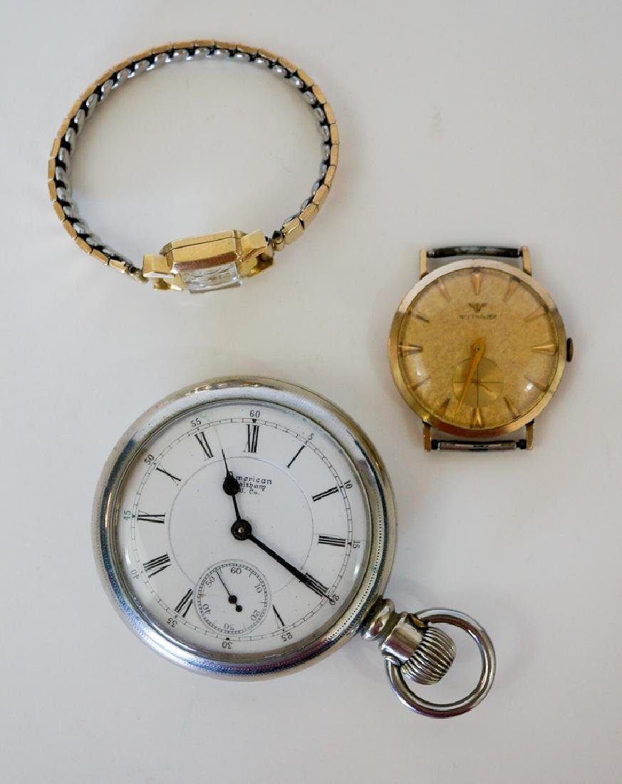 Wrist Watches and Pocket Watch