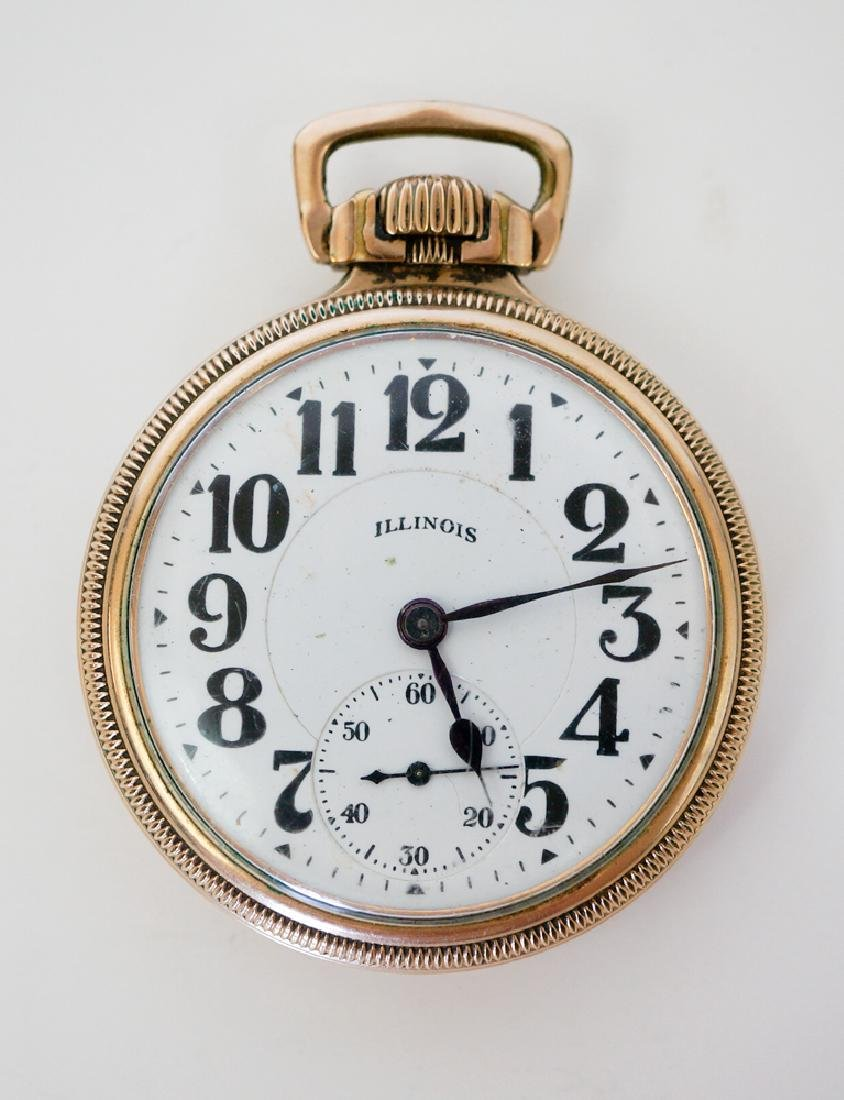 Illinois 21 Jewel Bunn Special Pocket Watch