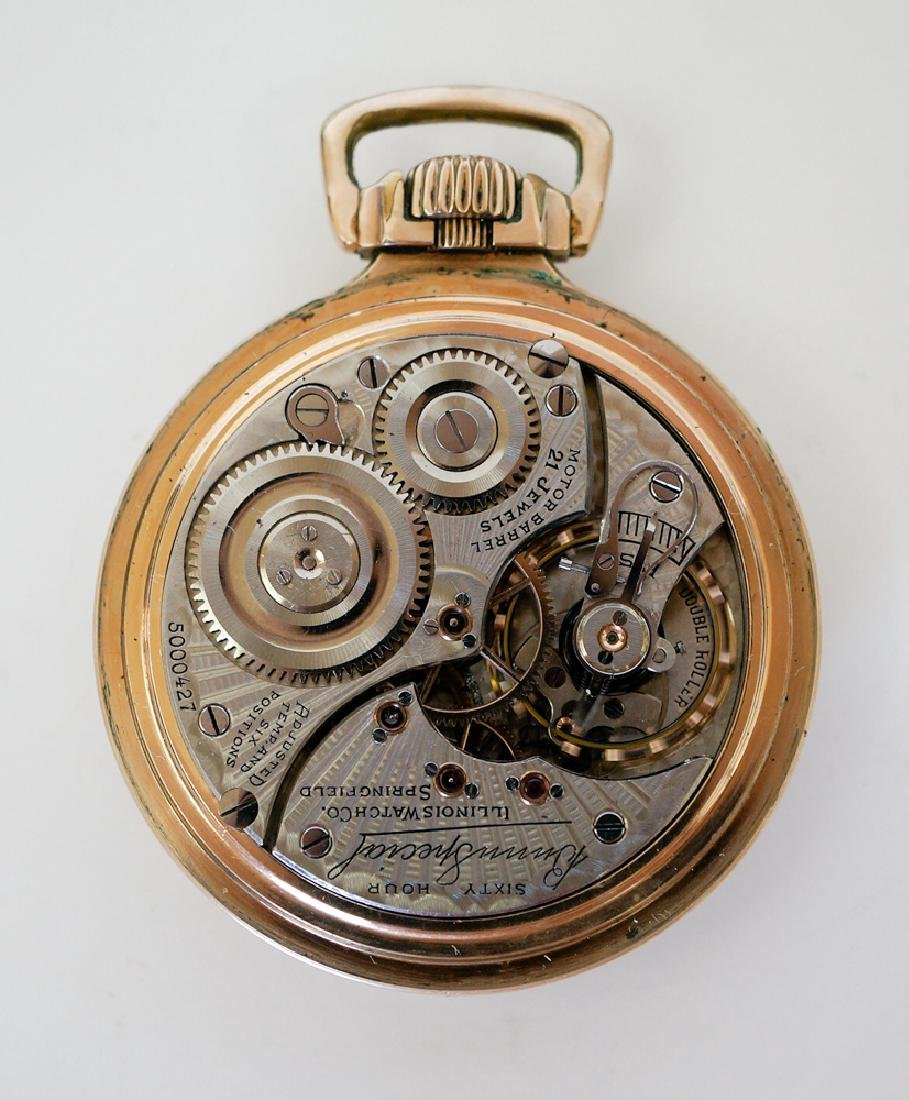 Illinois 21 Jewel Bunn Special Pocket Watch - 2