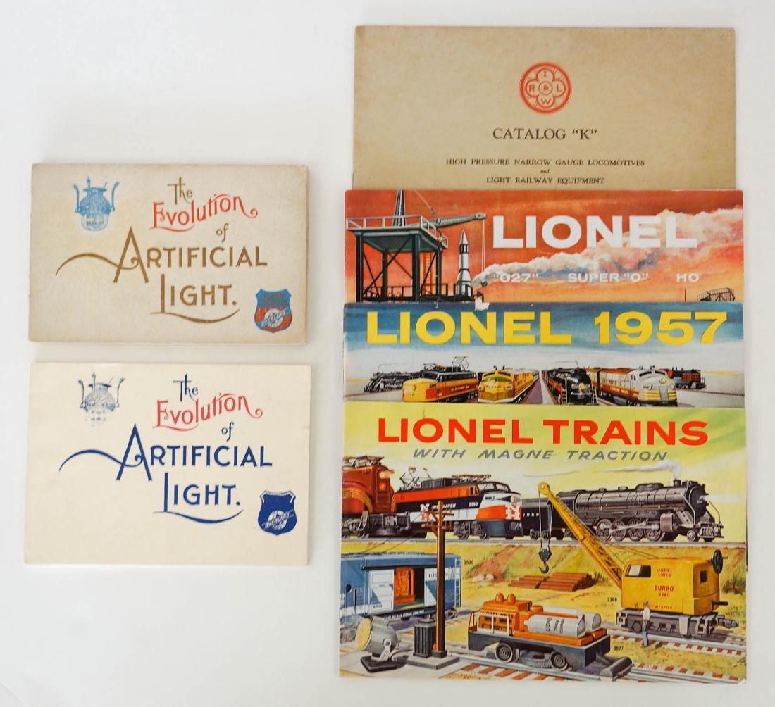 Group 1893 Union Pacific Booklet, Lionel Catalogs