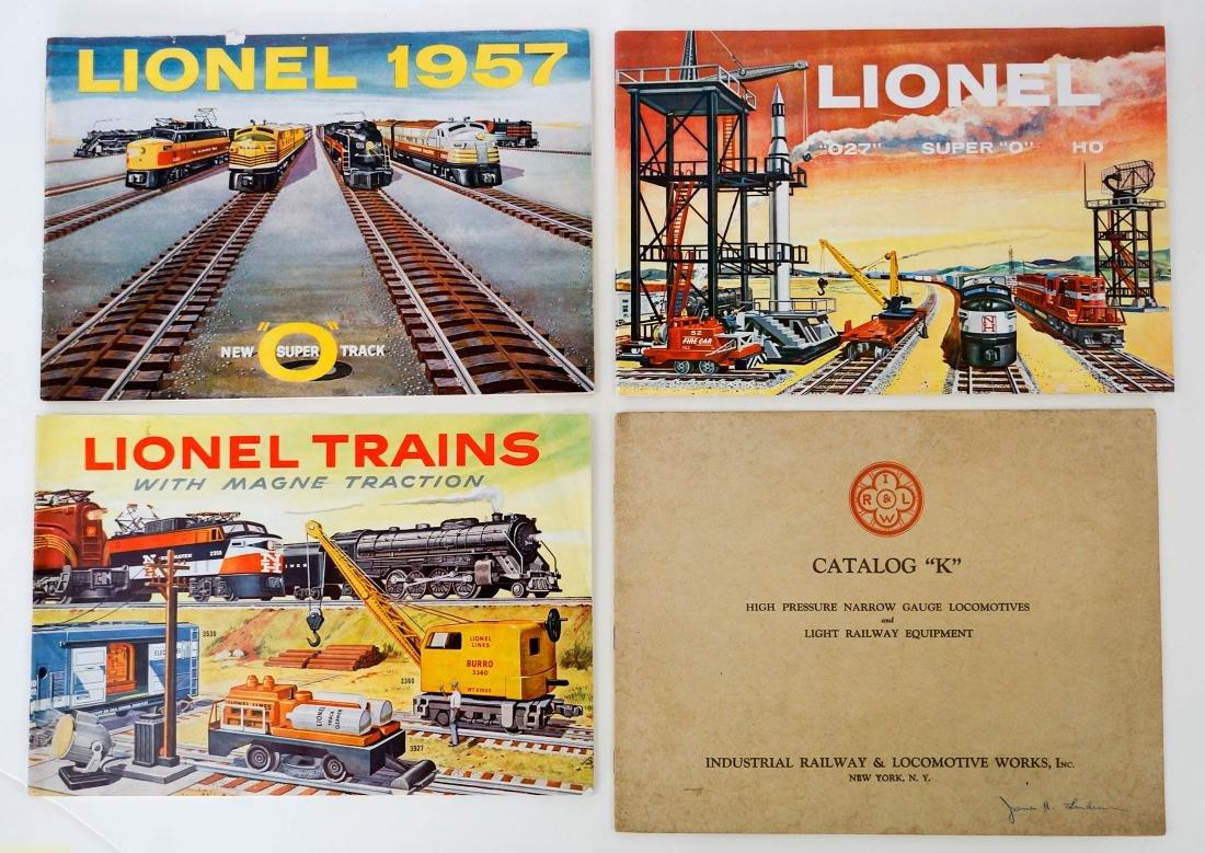 Group 1893 Union Pacific Booklet, Lionel Catalogs - 3