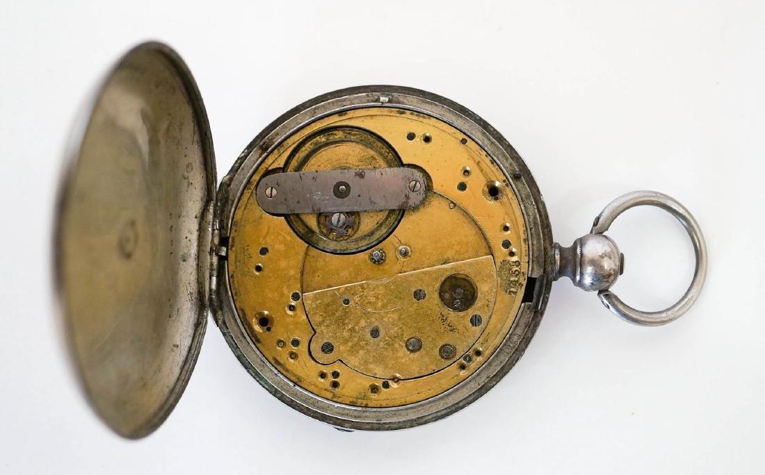 Liverpool Pocket Watch, 19th Century Railroad - 3