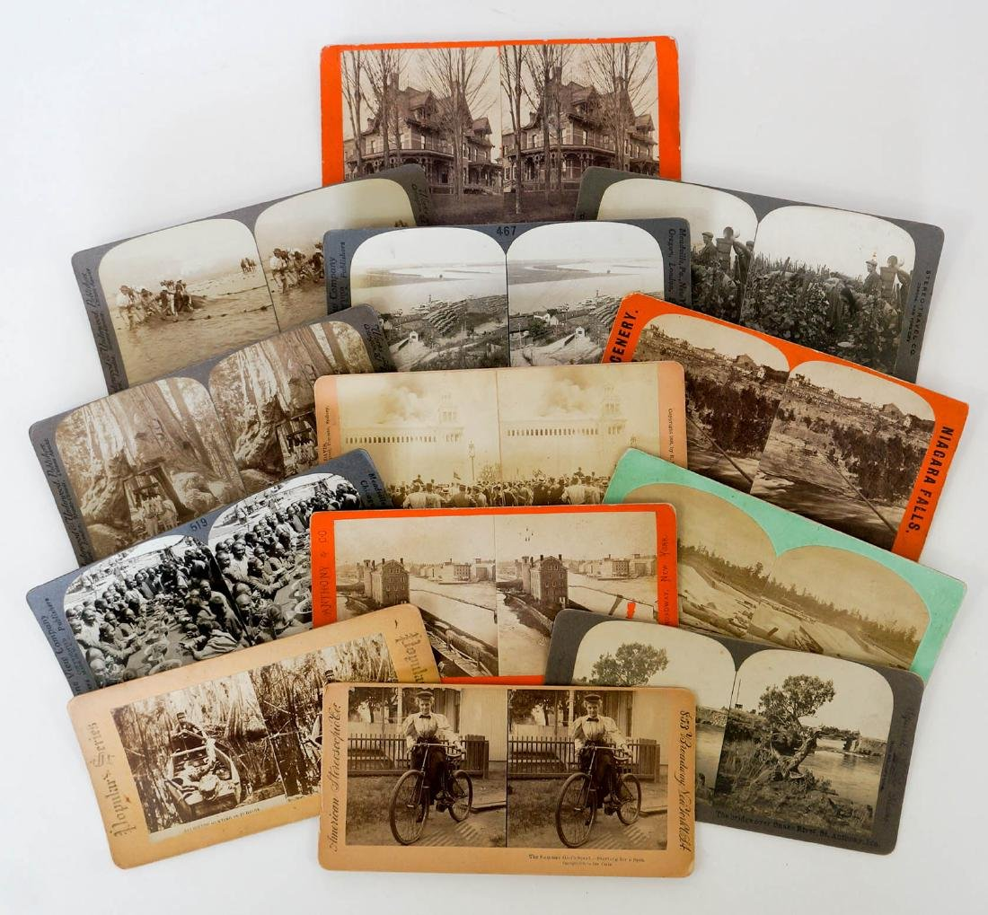 Group of 132 Stereo Views Early, Ethnic - 2
