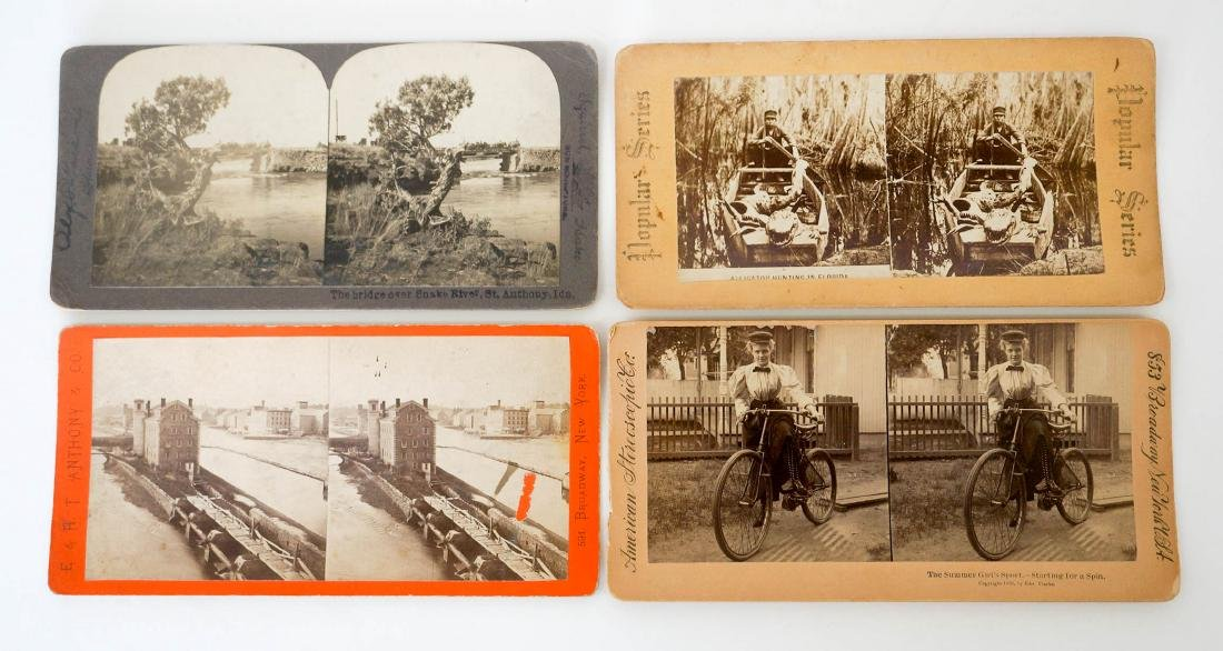 Group of 132 Stereo Views Early, Ethnic - 3