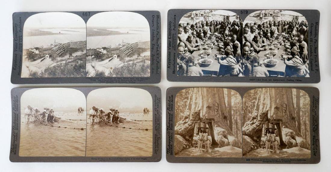 Group of 132 Stereo Views Early, Ethnic - 4