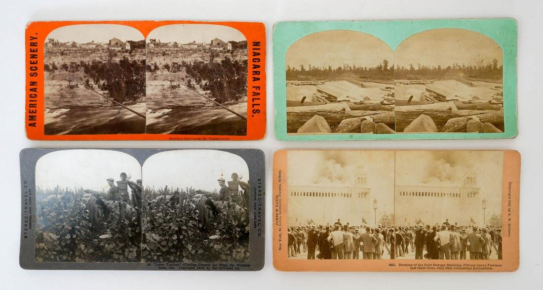 Group of 132 Stereo Views Early, Ethnic - 5
