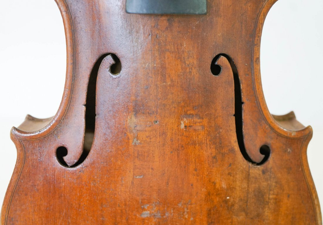 Antique 4/4 Violin with Bow and Case - 3