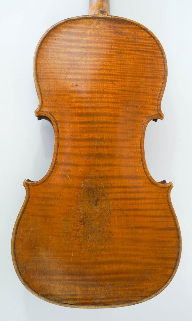 Antique 4/4 Violin with Bow and Case - 5