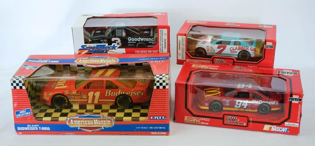 Group of Four Die-cast Cars