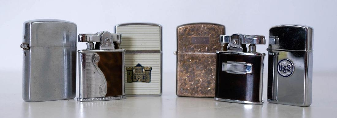 Group of Six Vintage Lighters