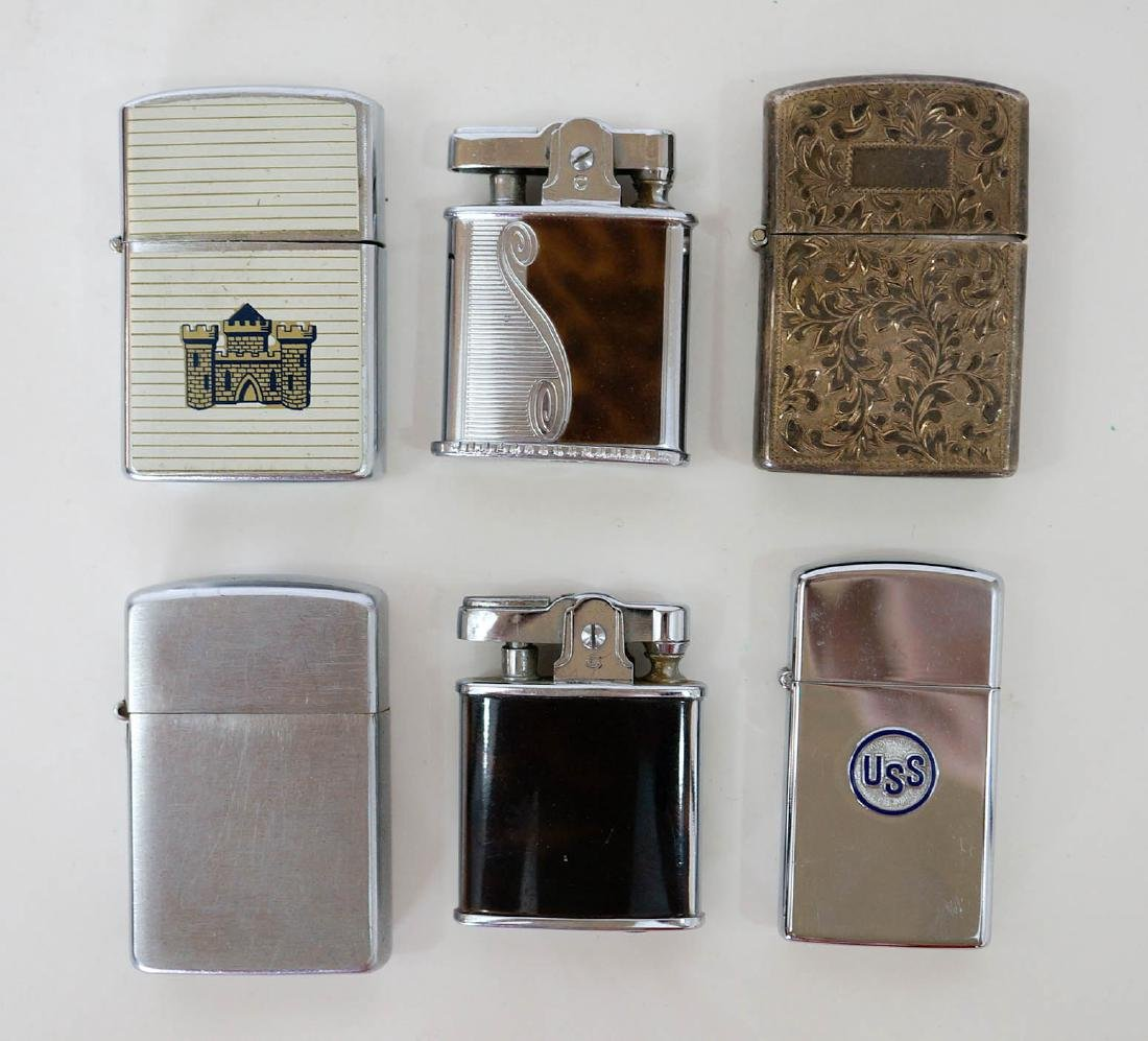 Group of Six Vintage Lighters - 2