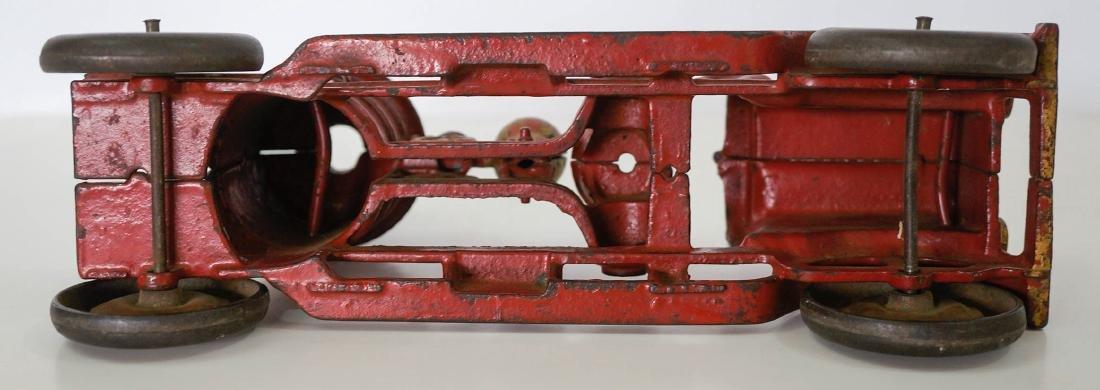 Vintage Cast Iron Fire Truck - 3