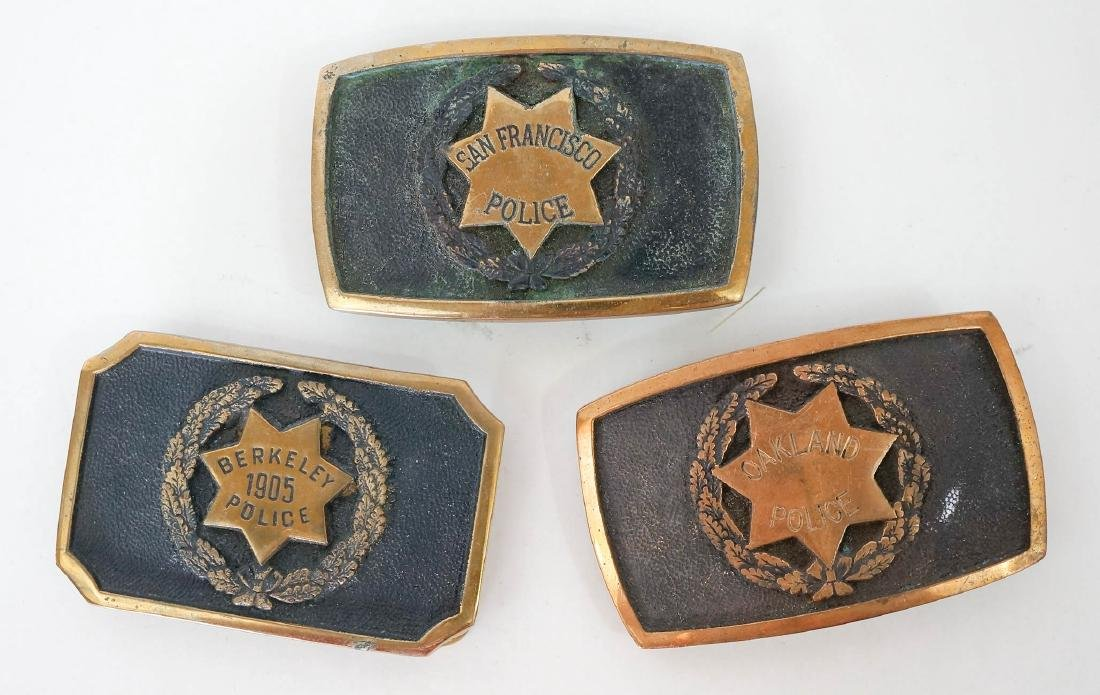 Group of Vintage California Police Memorabilia - 3