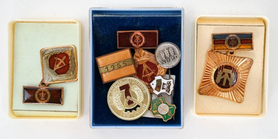 Vintage Russian Soviet Union Pins and Medals