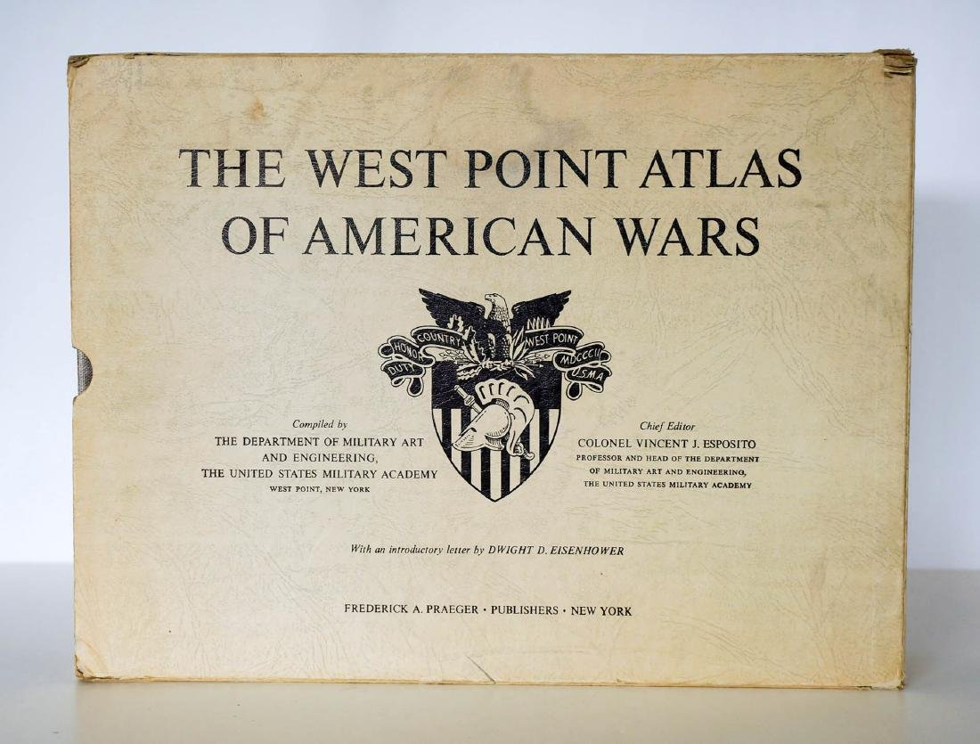 The West Point Atlas of American Wars, 1959