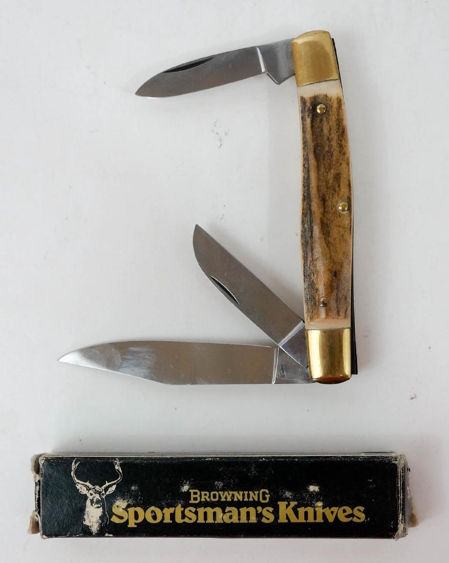 Browning Vintage Pocket Knife Unused - 2