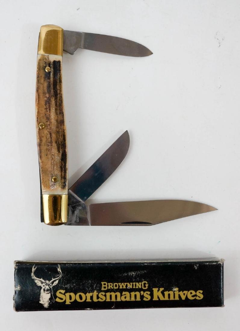 Browning Vintage Pocket Knife Unused