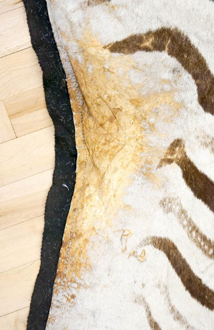 Zebra Hide Area Rug - 5