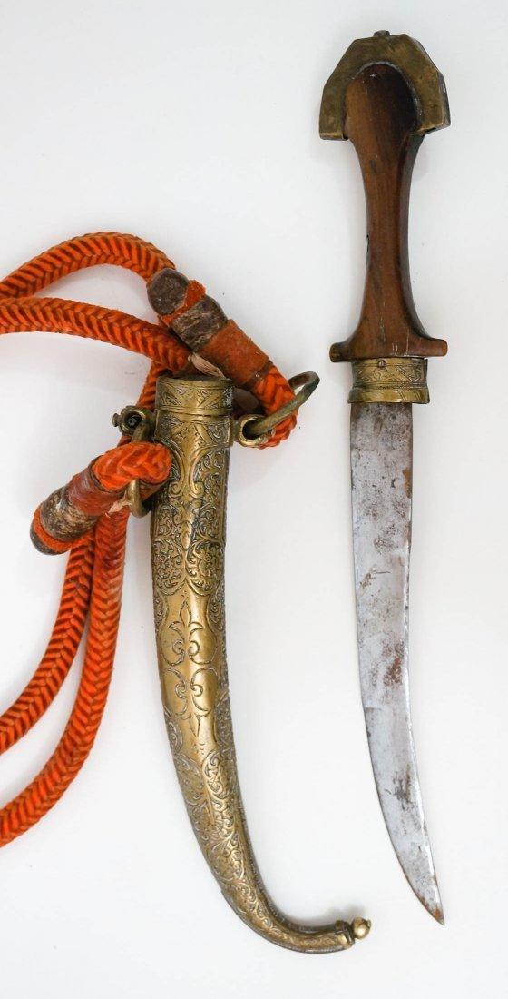 Moroccan Koumya Dagger with Sheath - 2