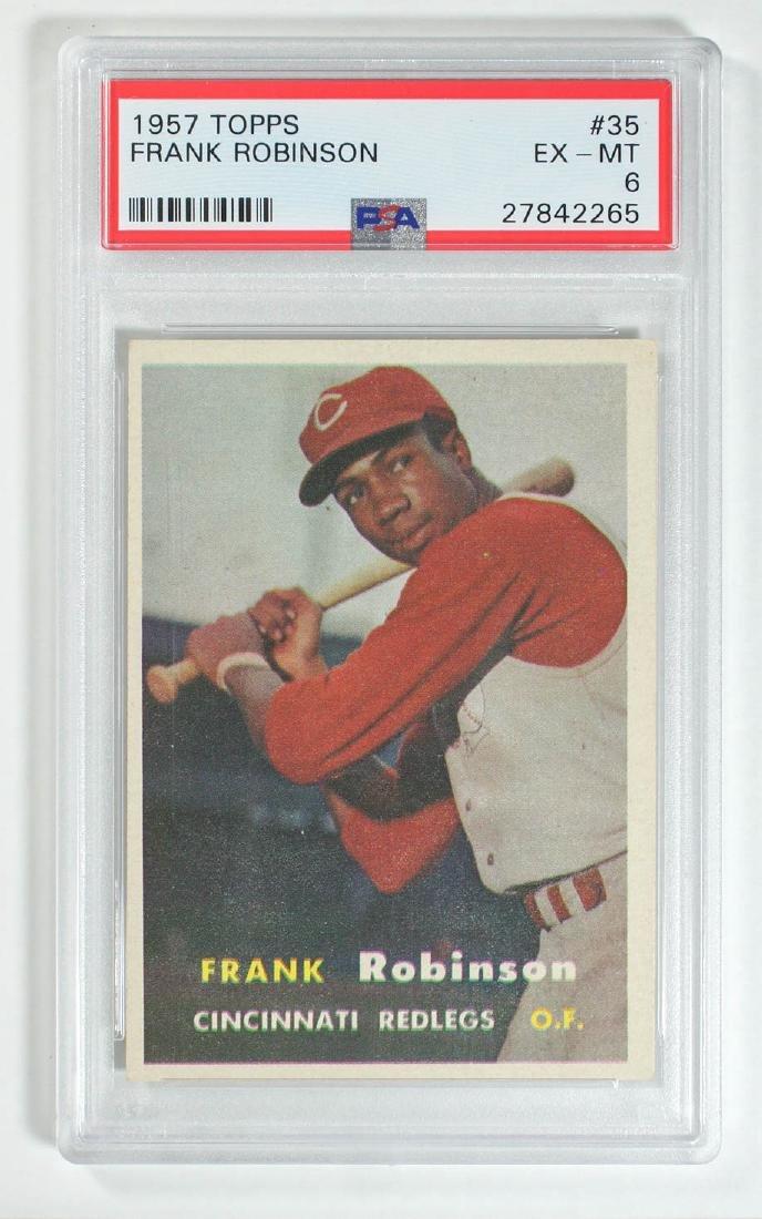 1957 Topps Frank Robinson #35 PSA 6 Ex-Mt