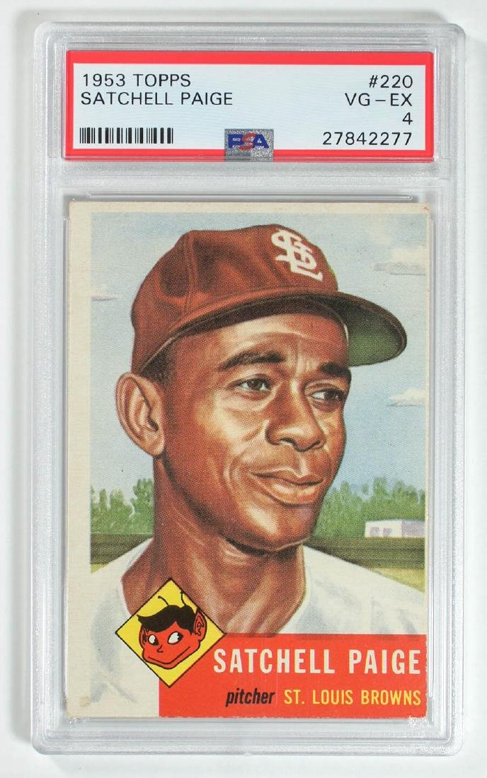 1953 Topps Satchell Paige #220 PSA 4 Vg-Ex