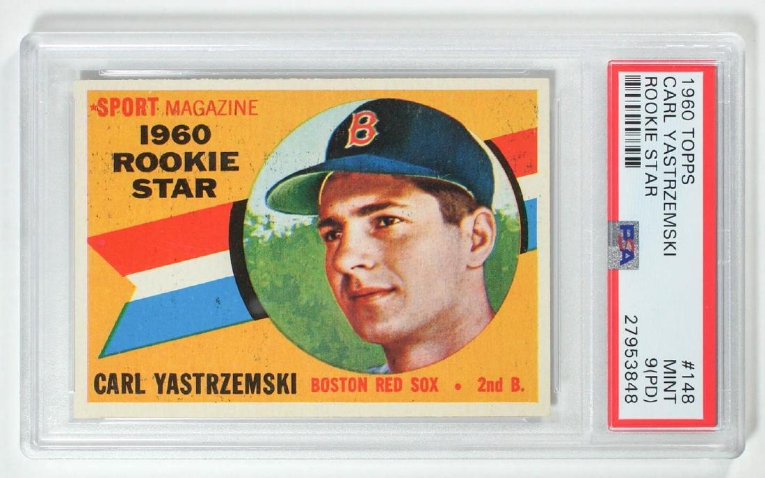 1960 Topps Carl Yastrzemski Rookie Star PSA 9 Mint