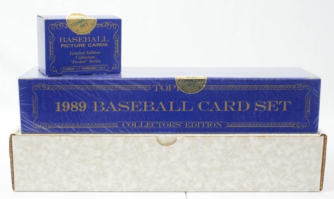 1989 Topps Tiffany Factory Sealed Set Traded Set