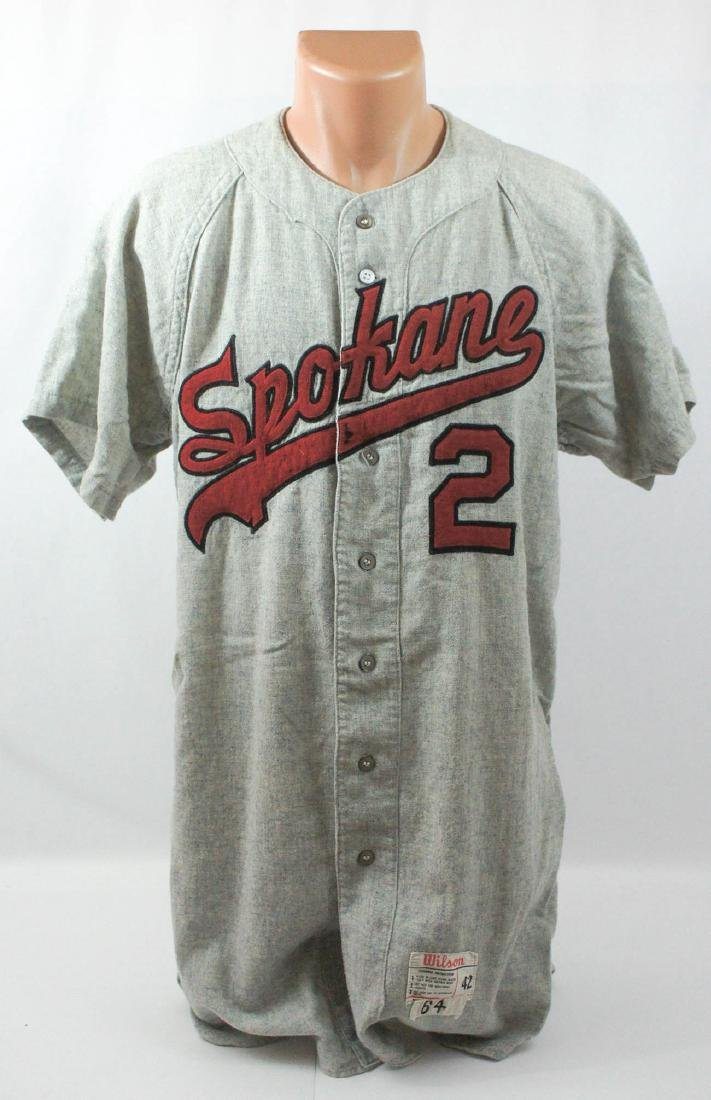 1964 Spokane Indians Game Used Jersey #2