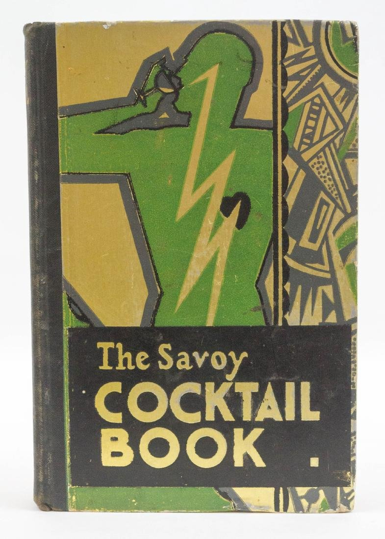 The Savoy Cocktail Book 1st Edition 1st Issue 1930