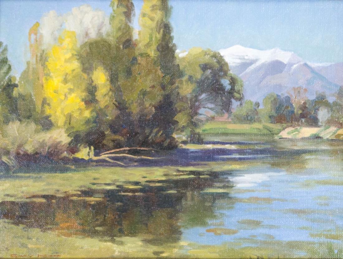 Gary Kapp (Utah, b.1942) Framed Oil Painting