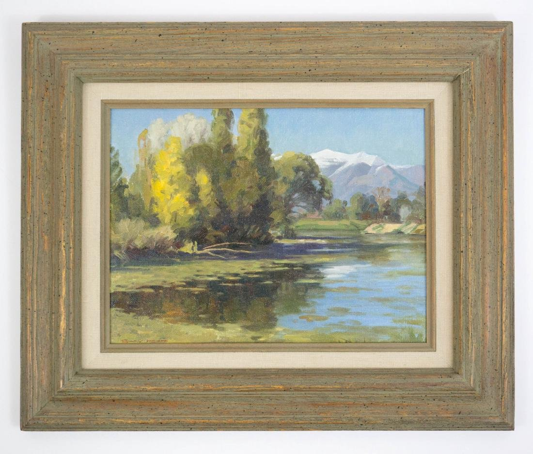 Gary Kapp (Utah, b.1942) Framed Oil Painting - 2