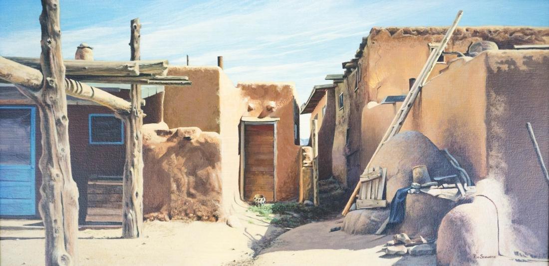 Ron Schwartz Framed Original Artwork