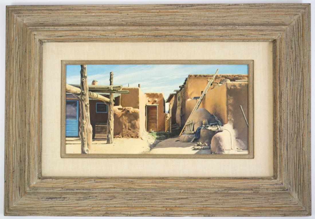 Ron Schwartz Framed Original Artwork - 2