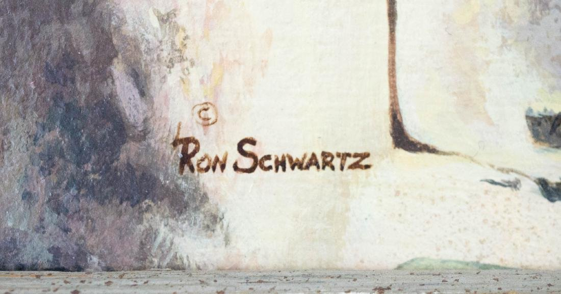 Ron Schwartz Framed Original Artwork - 3
