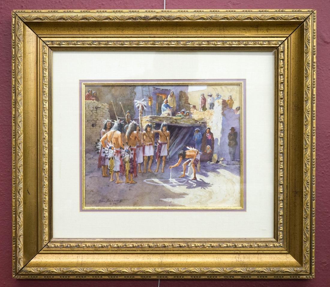 David Halbach Original Watercolor