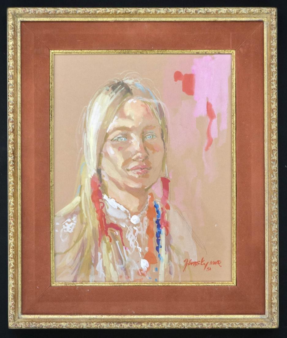 Jessica Zemsky (MT, b.1923) Original Artwork