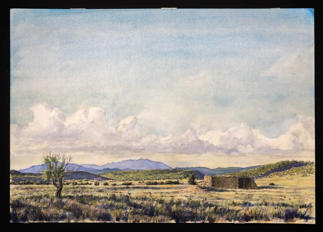 Peter De La Fuente Rogers Original Watercolor