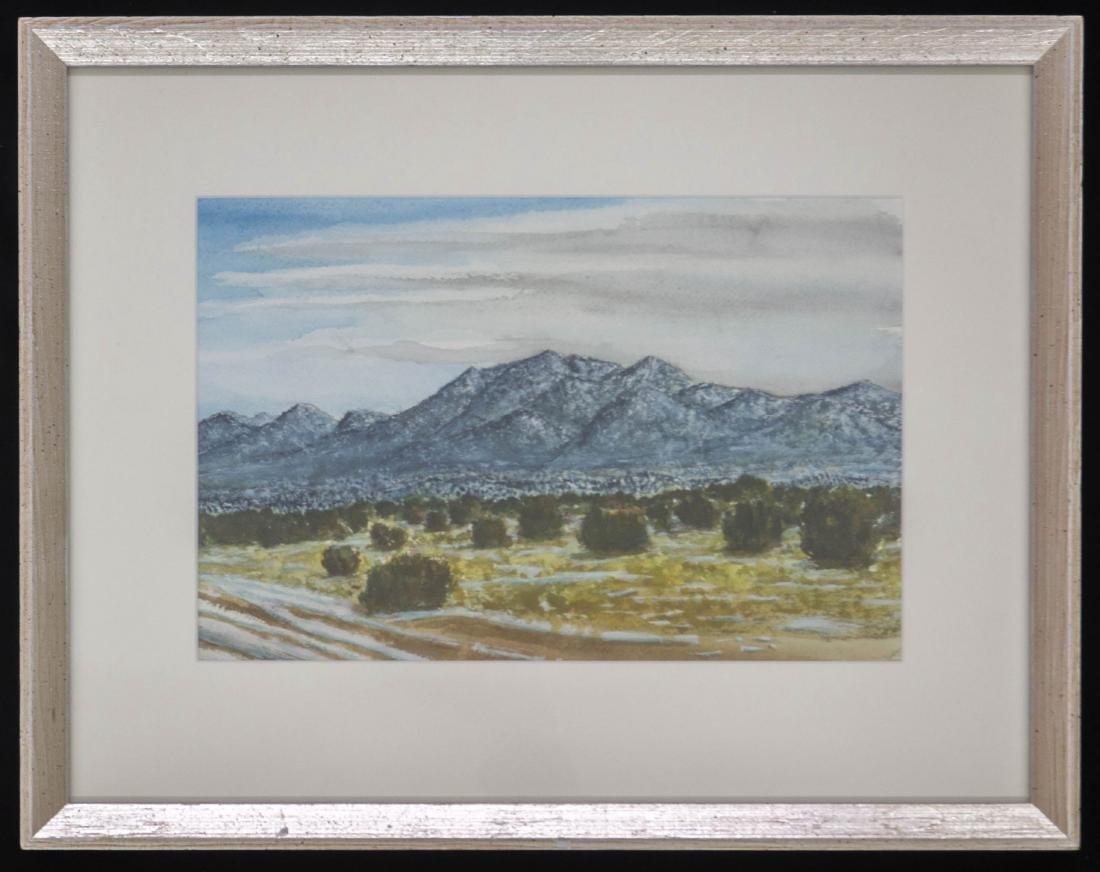 Peter De La Fuente Original Watercolor