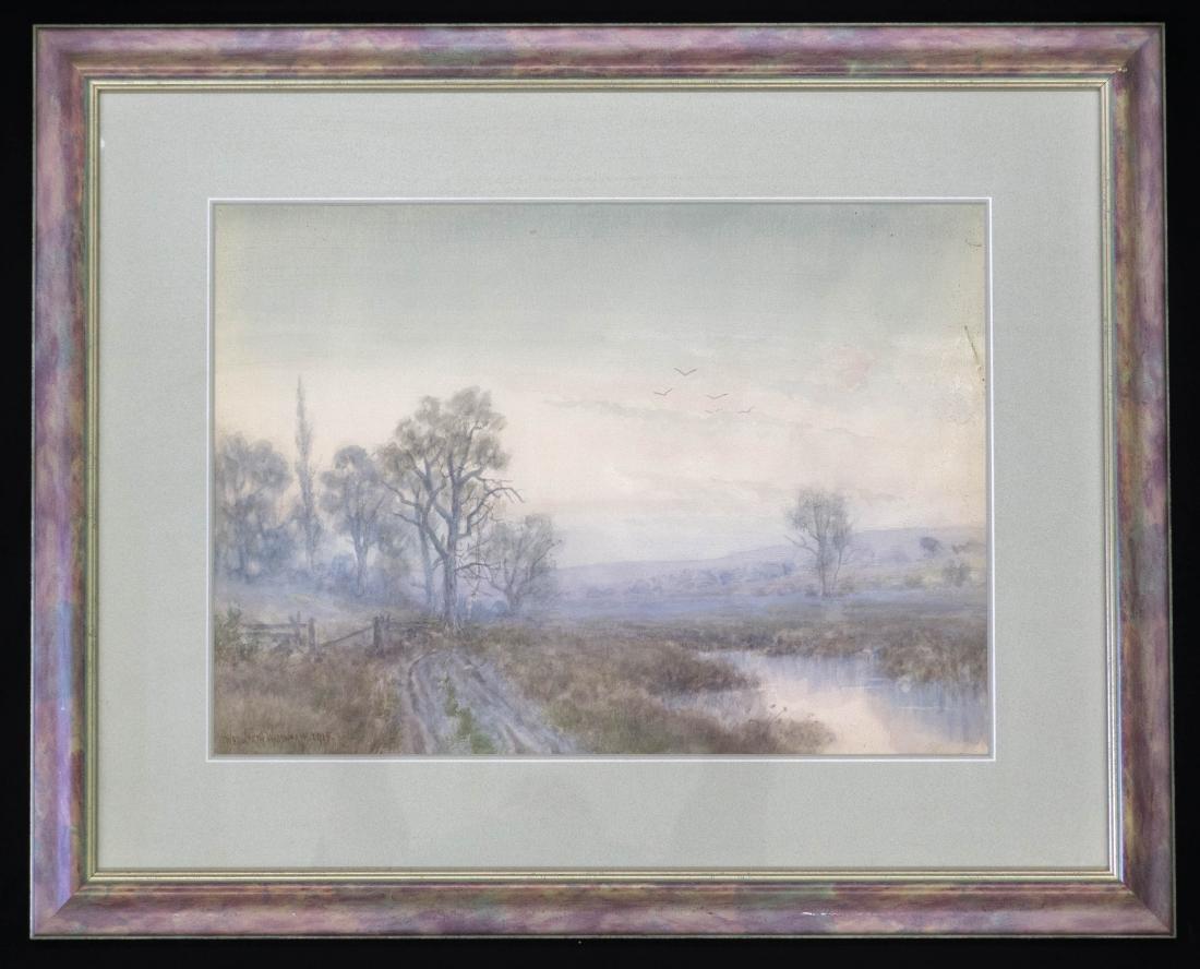 Wedworth Wadsworth (1846-1927) Watercolor