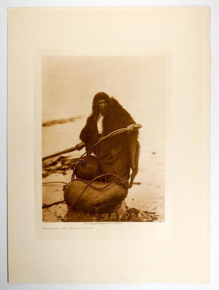 Edward Curtis Tissue Photogravure, 1915