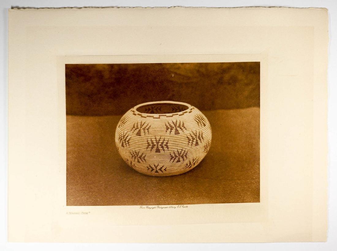 Edward Curtis Tissue Photogravure, 1924