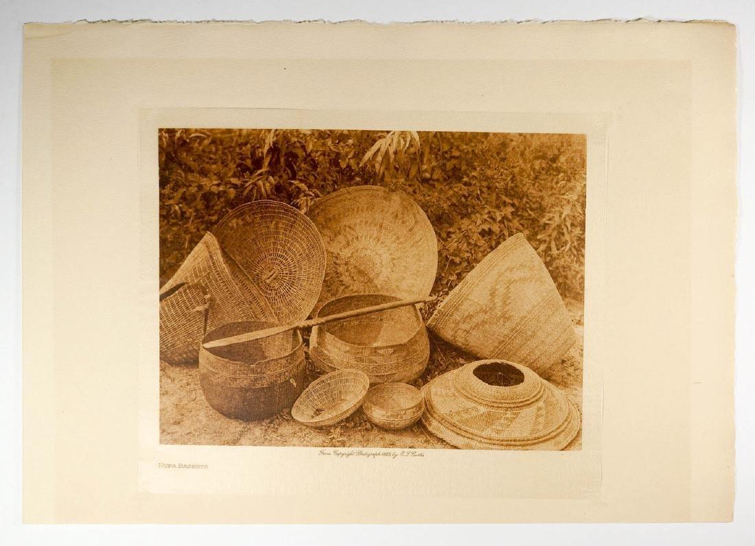 Edward Curtis Tissue Paper Photogravure, 1923