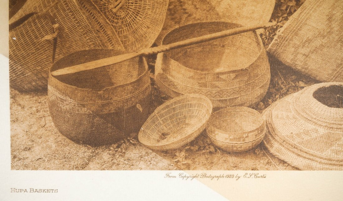 Edward Curtis Tissue Paper Photogravure, 1923 - 2