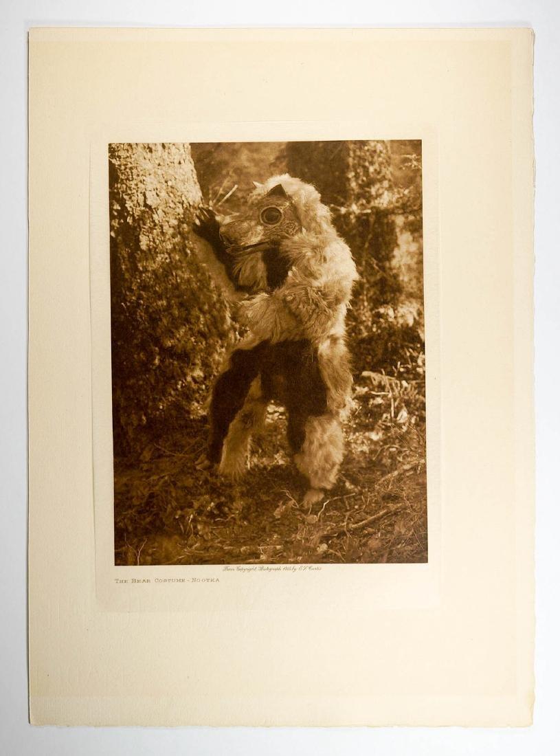 Edward Curtis Tissue Photogravure Nootka, 1915
